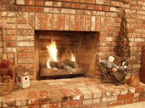 How to work with brick masonry fireplace hearth - Costruire un camino in casa ...