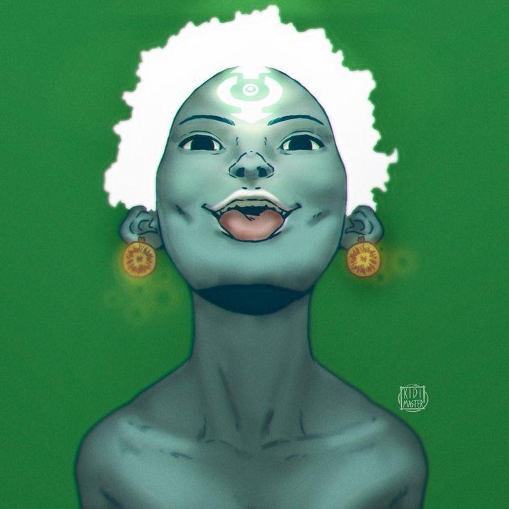 Little Green Demon by KidiMaster