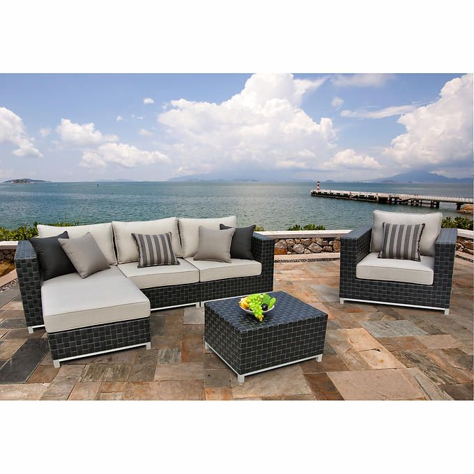 Soho 6-piece Seating Set | Luxury outdoor furniture, Patio ... on Fine Living Patio Set id=11370