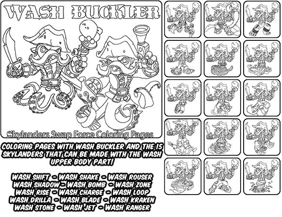 chaos skylanders coloring pages - photo#35