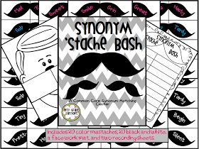 "First Grade Fairytales: ""Stache""-Tastic Find & FLASH FREEBIE"