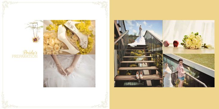 Martin & Veronica Wedding Day Album Design, photo by HOP, edit & design by Wenny Lee