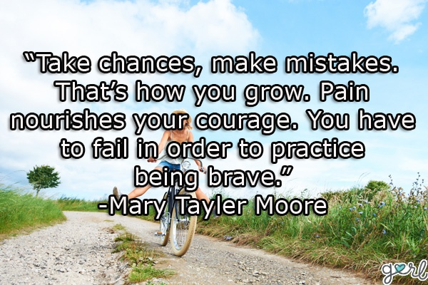 Quotes About Making Mistakes: Inspirational, Motivational Life Quote | Gurl.com