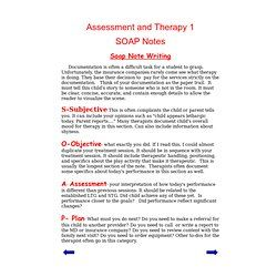 Amazon.com: soap notes occupational therapy