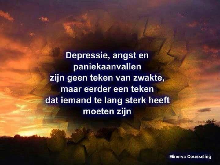 Spreuk ~ Depressie