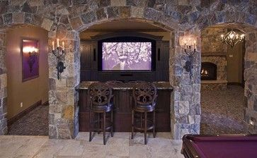 Stone Bar Design, Pictures, Remodel, Decor and Ideas