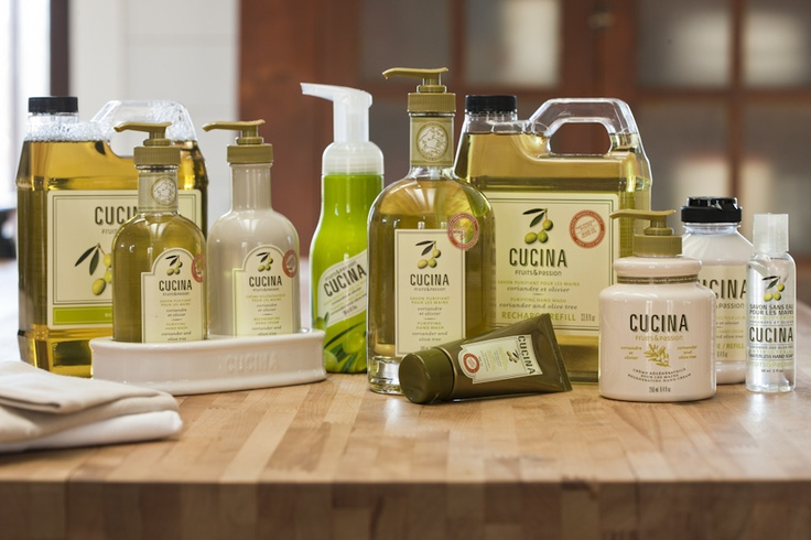Coriander and olive tree hand care collection / Collection pour les mains Coriandre et olivier