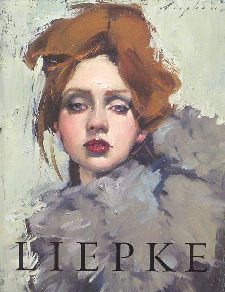 ARTIST: Malcolm T Liepke (American, b1954 - ) ~ (oil on canvas)