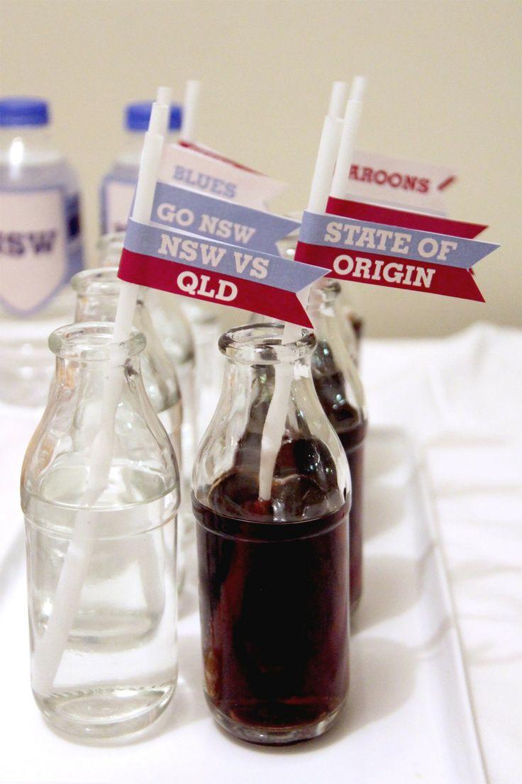 State of Origin Drink Flags | Creative Sense Co