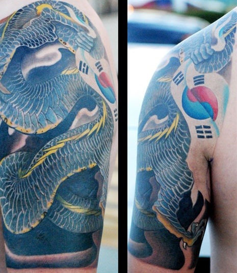 Juxtapoz Magazine - Phillip Spearman: Changing the Face of Korean Tattoos | Features