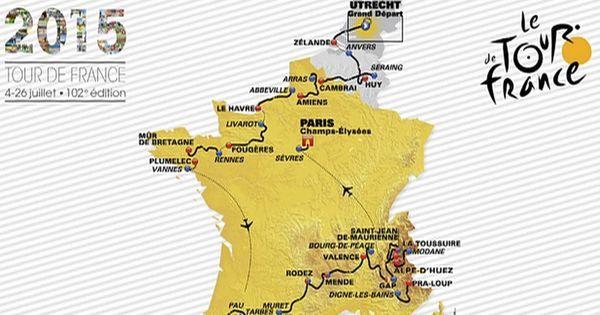 Beaucoup de montagne et peu de contre-la-montre... le Tour de France 2015