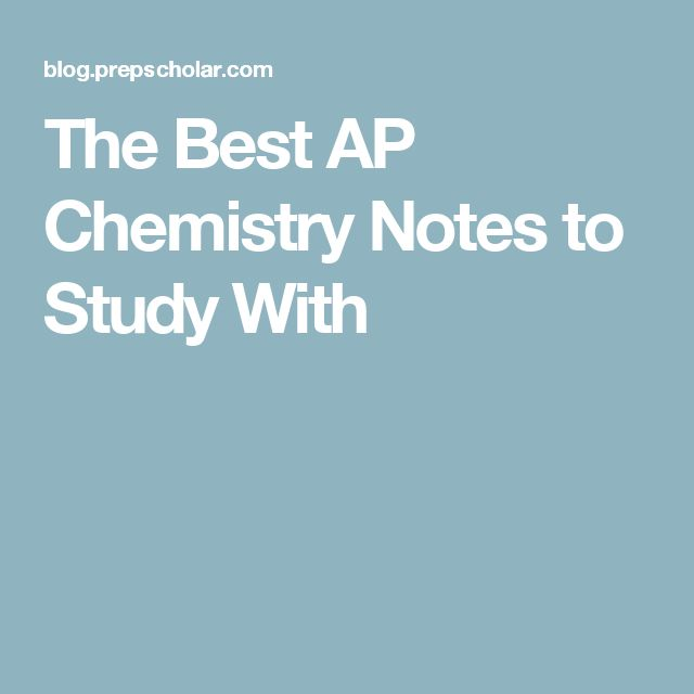 Best AP Chemistry Textbook — College Confidential