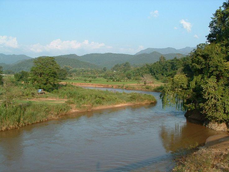 Pai River - Fluss in Mae Hong Son