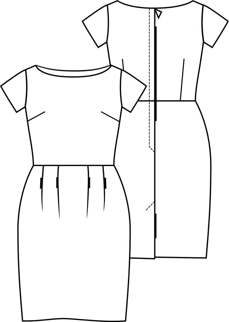 Fashion Style juillet 2017 - patron pdf gratuit