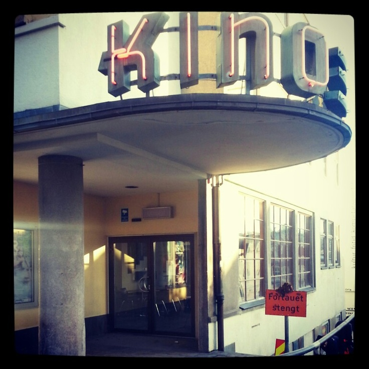 Sandnes kino. Seen lots of movies here in my younger days. Now it serves primarily as a center for movie- and  artmakers.