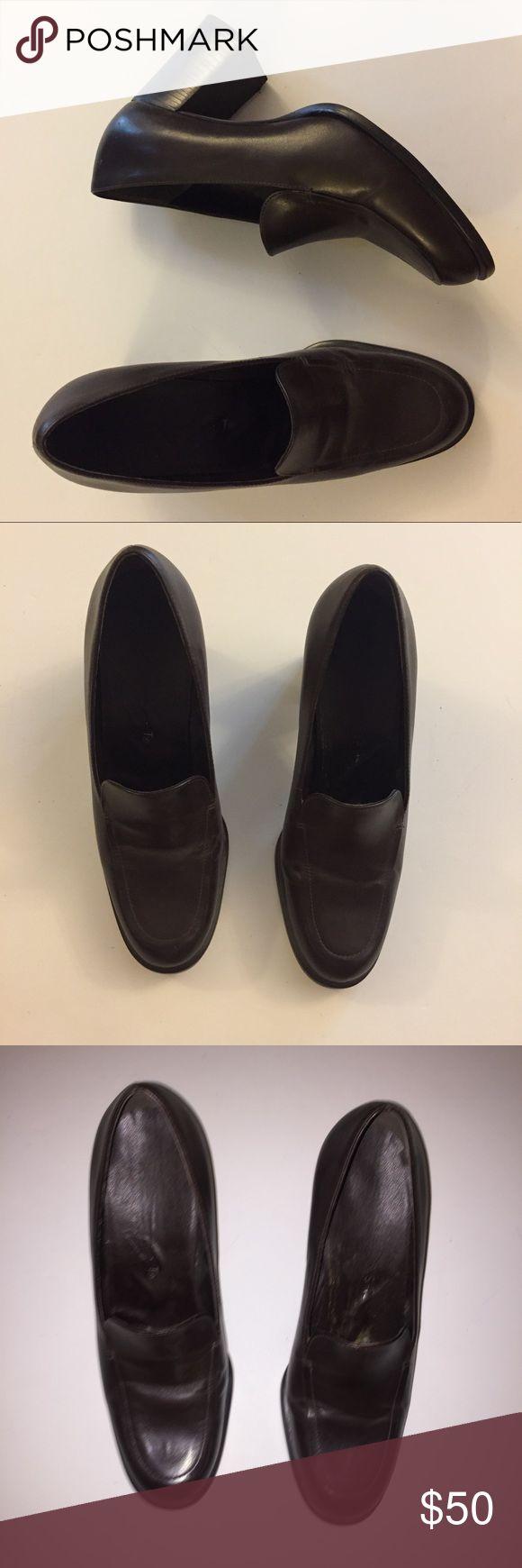 Dark Brown Cute Heel Clogs Sandals very cute! Shoes Heels