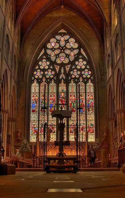 Ripon Cathedral, England. I have spent so much time in this grand Cathedral, volunteering by giving tours. The oldest Christina Church in the whole of England. Everyone should visit at least once in life.