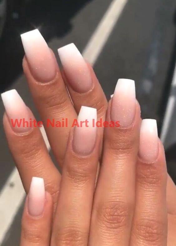 30+ Simple & Trending White Nail Design Ideas 3 #naildesign