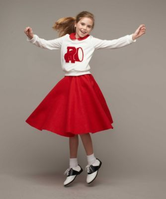 Grease® Cheerleader Costume for Girls