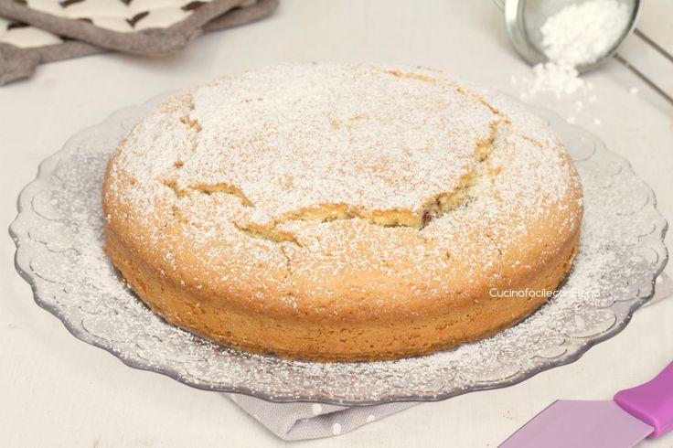 torta con la nutella che non affonda intera