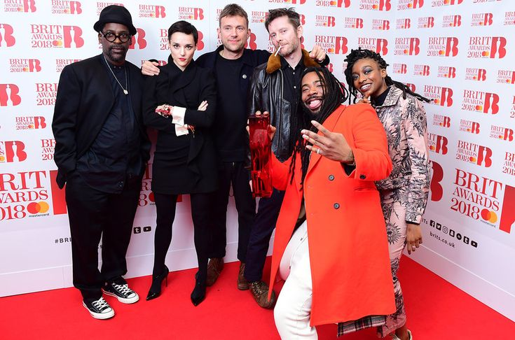 Gorillaz,ganador a mejor grupo británico