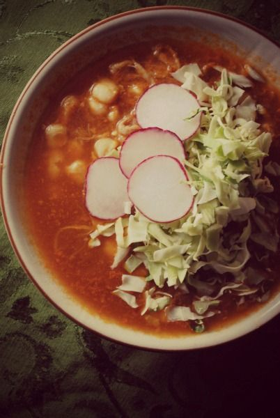 Red Posole (pozole rojo) from sweetlifebake.com - now if I can just master tamale-making, we could have a fabulous holiday meal next year.