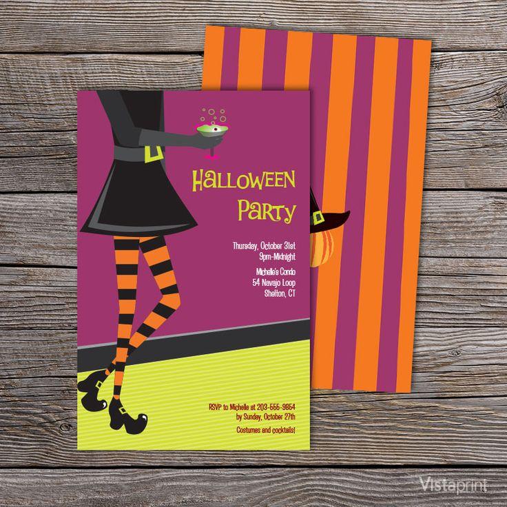 halloween party invitations vistaprint