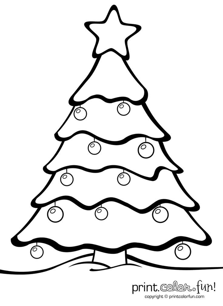 78 best Christmas  coloring pages 1 images on Pinterest - free christmas tree templates