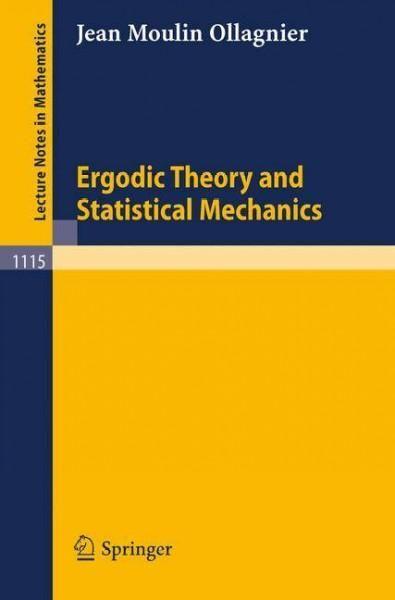 Ergodic Theory and Statistical Mechanics