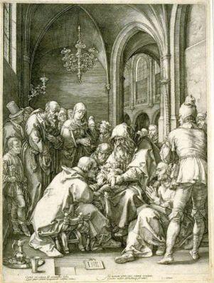 Hendrick Goltzius (Dutch, 1558-1617). The Circumcision, 1594. The University of Michigan Museum of Art, Michigan. Museum Purchase, 1976. http://www.umma.umich.edu