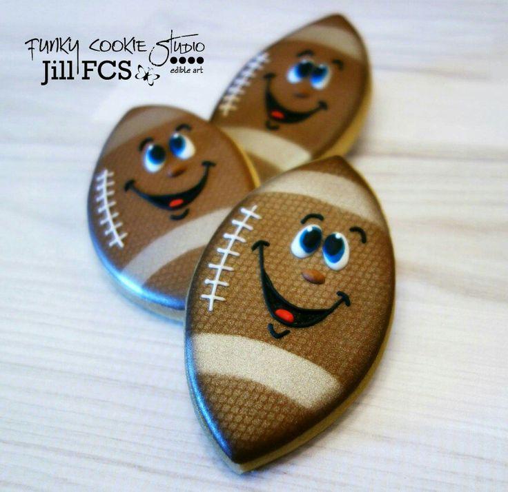 Jill FCS:  Smiling footballs!