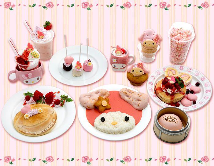 My Melody 40th Anniversary Fair OMOIYARI TO YOU - Dream Cafe Menu