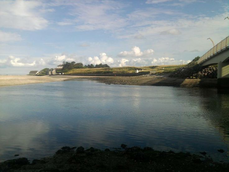 Nanny River Estuary, Laytown... just a short walk down the beach from your cottage.