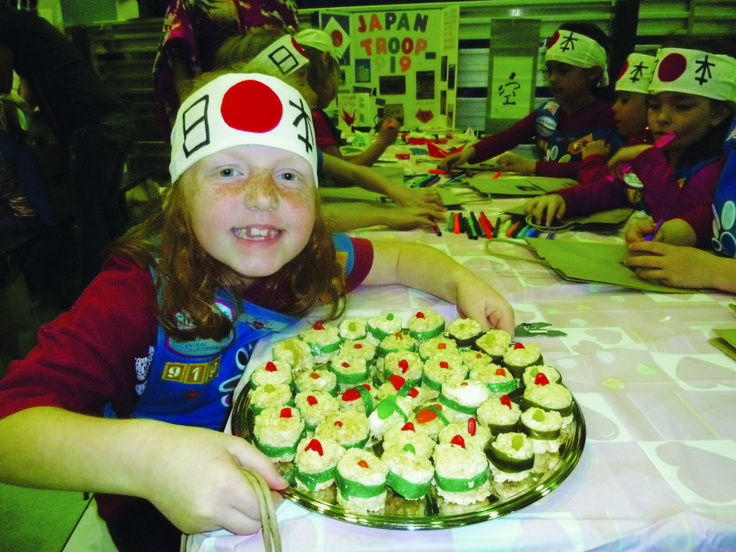 About Girl Scouts of Japan | Girl Scouts celebrate World Thinking Day | Village Life