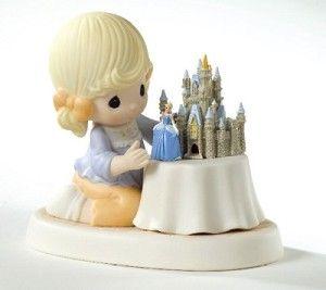 Disney Precious Moments Figurine - A World of My Own - Cinderella