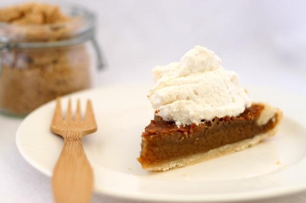 Brown Sugar Pie    First you