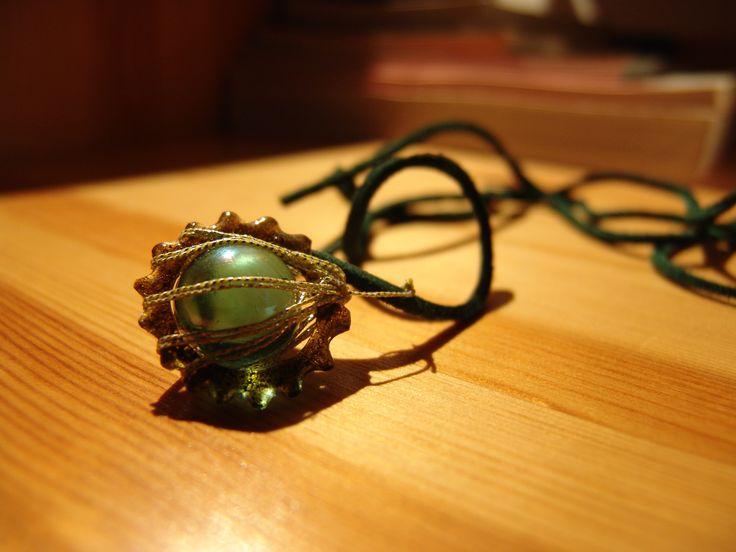 Bead medal steampunk gift shrinking foil