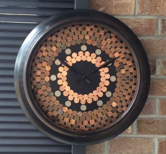My penny clocks are a popular item, and I rarely have them in stock for long…
