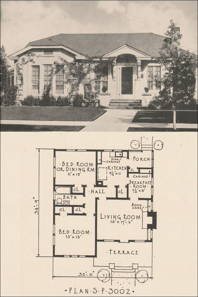 Spanish bungalow house plans for Spanish revival house plans
