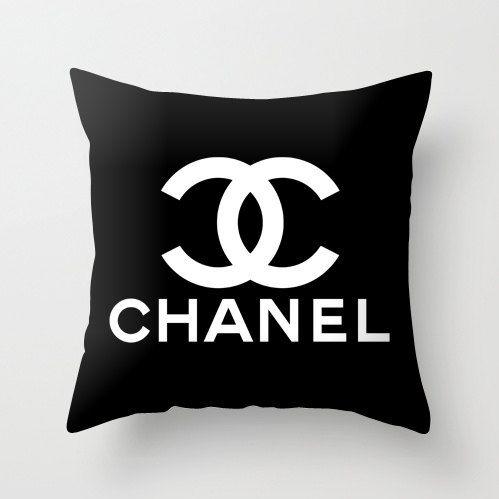 Fashion Brand Best Black Design Decorative Pillow Case by RaffPeez