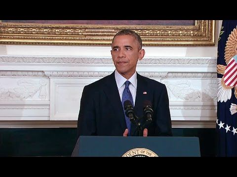 SOMETIMES I FEEL SORRY FOR OBAMA President Obama Makes a Statement on Iraq