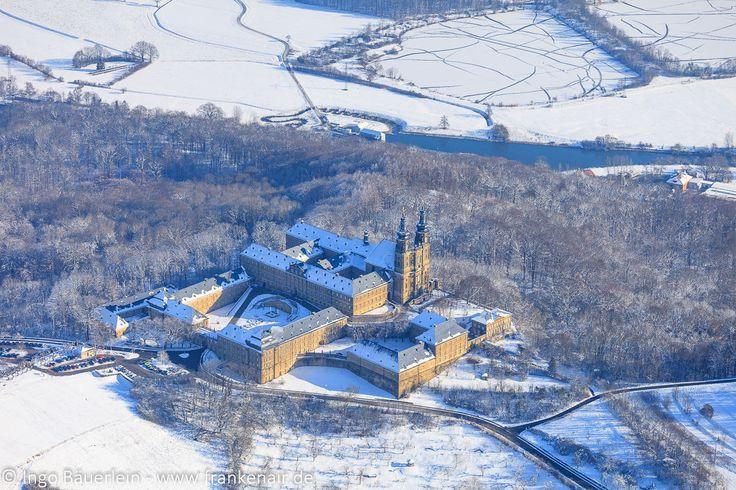 Kloster Banz - Schneelandschaft