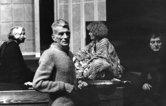 Mario Dondero  Samuel Beckett