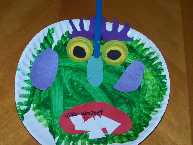 Learning and Teaching With Preschoolers: Go Away Big Green Monster