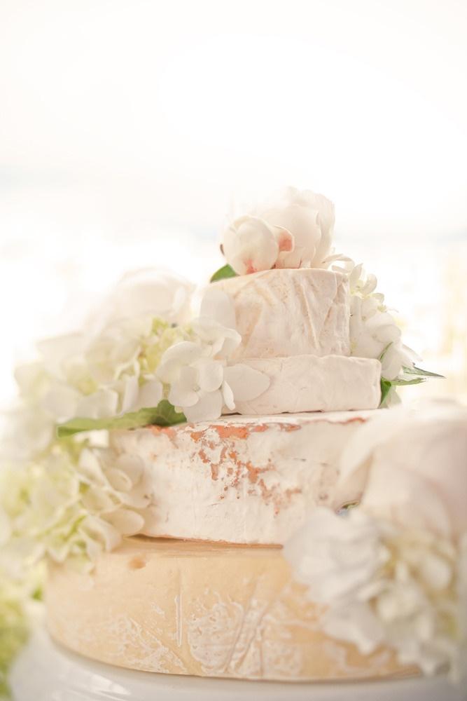 + real cake: Wedding Cheese Wheel Cake