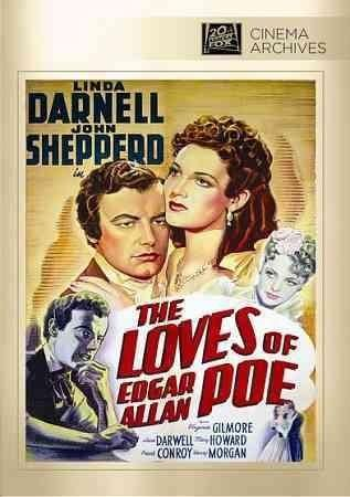 John Shepperd, later known as Shepperd Strudwick, stars as the tragic Edgar Allan Poe in this low-budget biopic. Adopted as a child, Poe grows into a directionless adult, disgracing himself and his fo