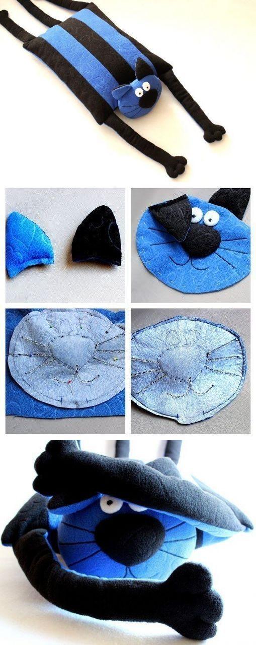 Игрушка-подушка фото мастер-класс / Мир игрушки / Разнообразные игрушки ручной работы