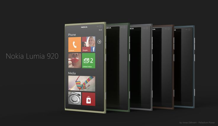 Nokia Lumia 920 Windows Phone 8 Concept