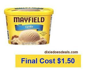 dixiedoesdeals | Mayfield Ice Cream Only $1.50 At Kroger