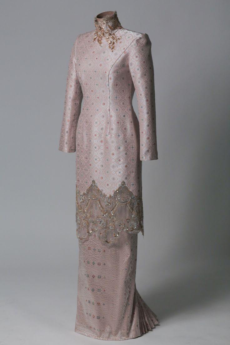 Image result for songket wedding dress